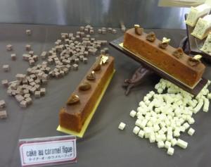 cake au caramel figue